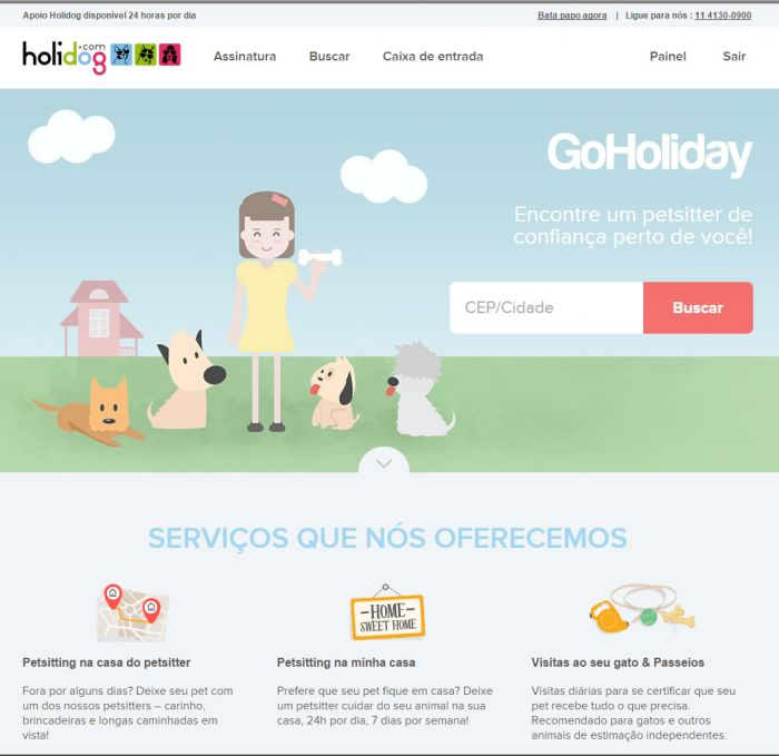 holidog-home